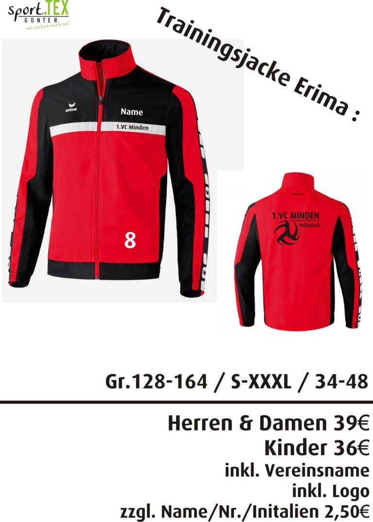 Trainingsjacke
